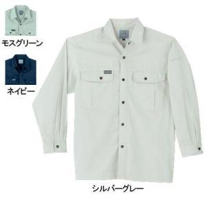 作業服 作業着 春夏用 桑和 SOWA 195 長袖シャツ M〜LL|kinsyou-webshop