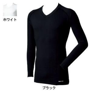 作業着 作業服 桑和 SOWA 50332 長袖サポートVネックシャツ S〜LL kinsyou-webshop