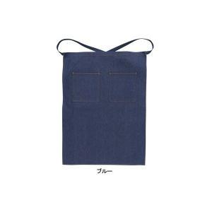 作業服 作業着 桑和 SOWA 10020 デニムエプロン(腰下)フリー(55cm巾×76cm丈) F|kinsyou-webshop