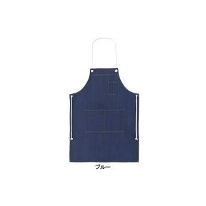 作業着 作業服 桑和 SOWA 10021 デニムエプロン(ロープ)フリー(64cm巾×87cm丈) F|kinsyou-webshop