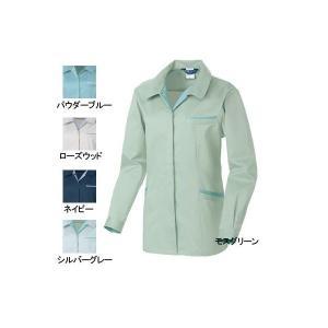 作業服 作業着 桑和(SOWA) 4222 エコ女子長袖スモック S〜LL|kinsyou-webshop