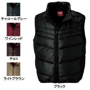 防寒着 防寒服 作業服 作業着 秋冬用 SOWA 桑和 43556 防寒ベスト 4L|kinsyou-webshop