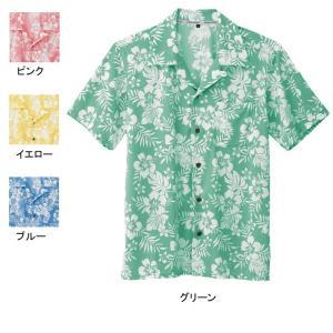 作業服 作業着 コーコス KS-2287 ニットアロハシャツ 4L〜5L kinsyou-webshop