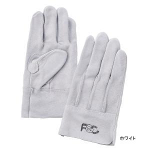 作業用品 富士グローブ 60FGC 牛床皮手袋(10双) フリー|kinsyou-webshop