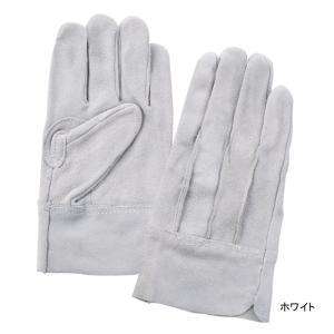 作業用品 富士グローブ EX-600 牛床皮手袋(10双) M〜LL|kinsyou-webshop