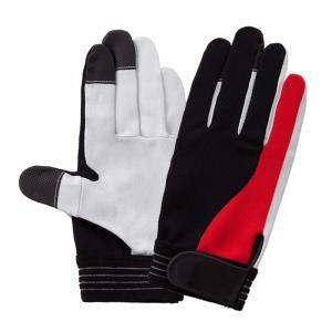 作業用品 富士グローブ TG-305 ツートングリップ 牛表皮手袋(10双) M〜LL|kinsyou-webshop