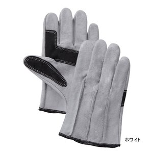 作業用品 富士グローブ 60-SH 牛床皮手袋(10双) L|kinsyou-webshop