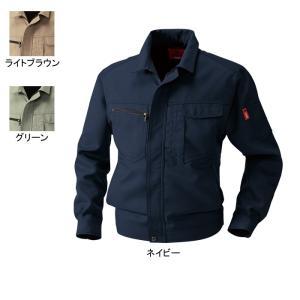 送料無料 作業着 作業服 SOWA 桑和 8443 長袖ブルゾン 4L ストレッチ|kinsyou-webshop