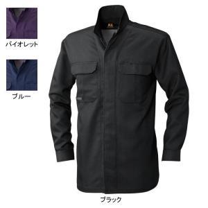 作業着 作業服 SOWA 桑和 67015 立衿オープンシャツ 4L|kinsyou-webshop