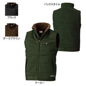 送料無料 防寒着 防寒服 作業服 作業着 秋冬用 SOWA 桑和 5506 防寒ベスト 6L|kinsyou-webshop