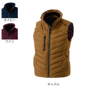 防寒着 作業服 作業着 藤和 TS DESIGN 3528 ライトウォームベスト S〜LL|kinsyou-webshop
