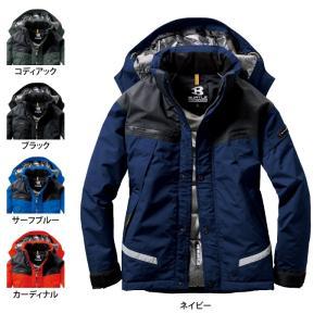 防寒着 作業服 秋冬用 バートル 7610 防水防寒ジャケット(大型フード付) 3L|kinsyou-webshop