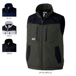 作業服 秋冬用 自重堂 78040 防寒ベスト 4L〜5L|kinsyou-webshop