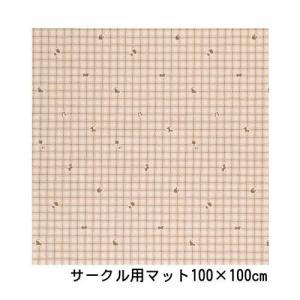 ペットサークル用 防滑・消臭・防水マット 「サークル用マット 100×100 03柄」|kintaro-w