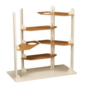 【新商品】キャットタワー [ キャット タワー ヴィラ] おしゃれ 据え置き 木製 猫 ねこ 猫タワー 室内用 置型|kintaro-w