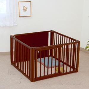 [限定セール]ペットサークル 木製 小型犬 サークル 「ペットサークル 60 M」 kintaro-w