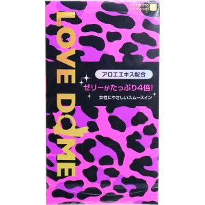 オカモト LOVE DOME(ラブドーム) パンサーコンドーム 12個入