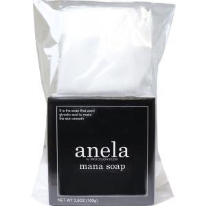anela アネラ マナソープ(泡立てネット付き) 100g|kintarou