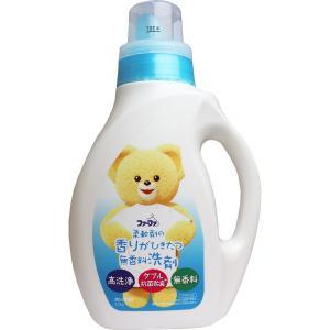 ファーファラボ 液体洗剤 香りひきたつ無香料 本体 1kg