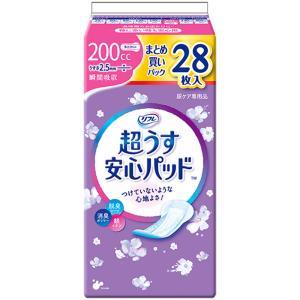 リフレ 超うす安心パッド 特に多い時も快適用 まとめ買いパック 28枚入 kintarou