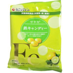 鉄分、葉酸をおいしく補給!  3粒で1日に必要な鉄分と葉酸がおいしく摂取できるキャンディーです。 ビ...