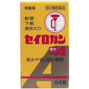 【第2類医薬品】 セイロガン糖衣A 84錠