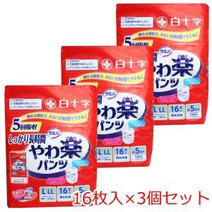 サルバ Dパンツ しっかりガード長時間 パンツタイプ L−LLサイズ 16枚入×3個セット 【ケース販売】 kintarou