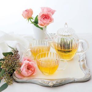 ティーポット ガラス おしゃれ ティーセット 結婚祝い プレゼント Tea Partyの画像