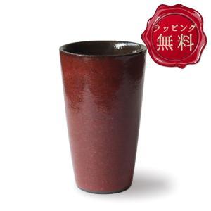 タンブラー 2021 陶器 ペア 食器 おしゃれ 二層構造 日本製 保冷 保温 350ml 結婚祝い プレゼント 誕生日 ボルドー|kintouen