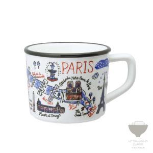 ジュリア・ガッシュ Julia GASH マグ PARIS パリ マグカップ 専用箱入り プチギフト プレゼント ラッピング対応|kintouen