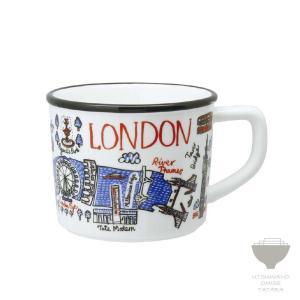 ジュリア・ガッシュ Julia GASH マグ LONDON ロンドン マグカップ 専用箱入り プチギフト プレゼント ラッピング対応|kintouen