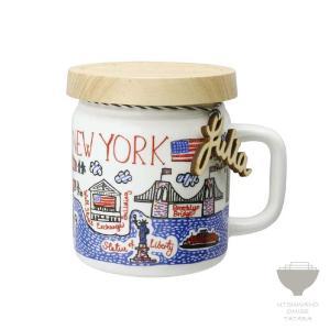 ジュリア・ガッシュ Julia GASH ジャーマグ NEW YORK ニューヨーク マグカップ 専用箱入り プチギフト プレゼント ラッピング対応|kintouen