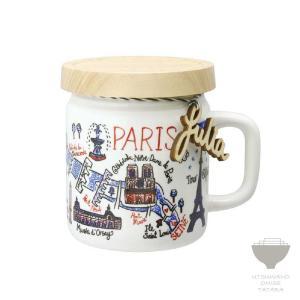 ジュリア・ガッシュ Julia GASH ジャーマグ PARIS パリ マグカップ 専用箱入り プチギフト プレゼント ラッピング対応|kintouen