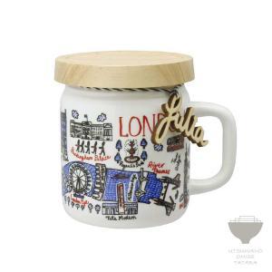 ジュリア・ガッシュ Julia GASH ジャーマグ LONDON ロンドン マグカップ 専用箱入り プチギフト プレゼント ラッピング対応|kintouen