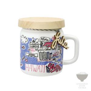 ジュリア・ガッシュ Julia GASH ジャーマグ HAWAII ハワイ マグカップ 専用箱入り プチギフト プレゼント ラッピング対応|kintouen