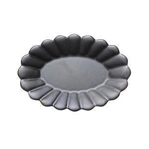 取皿 陶器 ポテリエ オーバルプレートS ブラック おしゃれ 和食器 美濃焼 日本製