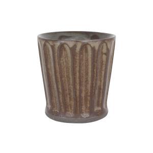 フリーカップ 陶器 GRIS カップ&手拭セット 手削ぎBR おしゃれ 和食器 美濃焼 日本製 専用...