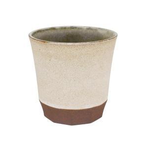 フリーカップ 陶器 GRIS カップ&手拭セット 粉引WH おしゃれ 和食器 美濃焼 日本製 専用箱...