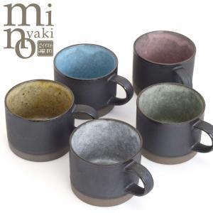 美濃焼 マグカップ おしゃれ ブルー 食器 和食器 食洗器 電子レンジ対応 和カフェ おうち時間 陶器 日本製 300ml アーストーン たたら|kintouen