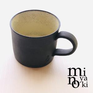 在庫限り マグカップ 陶器 黒土鍵 マグ クリスタル おしゃれ 和食器 美濃焼 日本製|kintouen