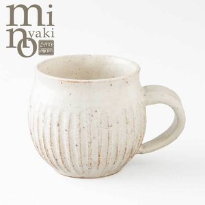 SALE マグカップ 陶器 人気 ろくろ 粉引 そぎまる マグ おしゃれ 和食器 美濃焼 日本製|kintouen