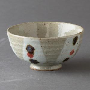 茶碗 陶器 玉紋赤飯碗 小 食器 おしゃれ 人気 美濃焼 日本製 kintouen