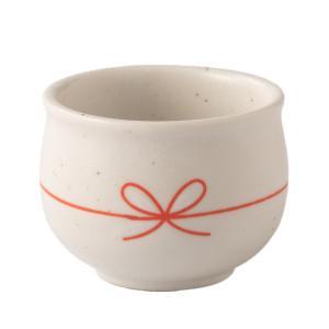 酒器 陶器 ぐるり結びぐい呑み 白 晩酌 おうち呑み 食器 おしゃれ 美濃焼 日本製|kintouen