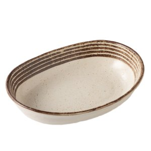 カレー皿 陶器 カスミ雲 楕円鉢 おしゃれ 和食器 美濃焼 日本製