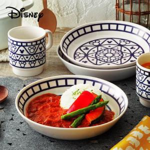 【ギフト包装対応商品】  ≪Disney≫ ミッキー&フレンズ カレー皿セット (21cmのプレート...