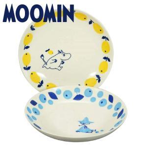 ムーミン 食器セット ペア パスタ皿 プレート セット ムーミンとスナフキン おしゃれ 女性 誕生日 結婚祝い プレゼント 日本製|kintouen