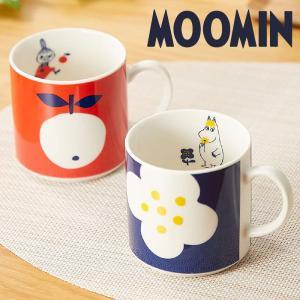 ムーミン ペア マグカップ セット リトルミイ・スノークのおじょうさん おしゃれ 女性 誕生日 結婚祝い プレゼント 日本製|kintouen