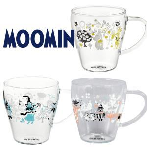 ムーミン 耐熱ガラス マグカップ 330ml リトルミイ スナフキン おしゃれ 女性 誕生日 結婚祝い プレゼント 日本製 kintouen