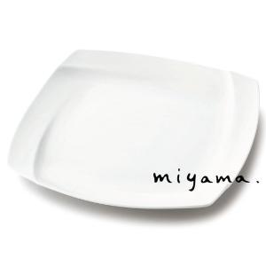 プレート 皿 食器 おしゃれ 30cm シャープなレリーフ オビ 白磁|kintouen