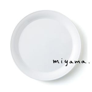 プレート 皿 食器 おしゃれ ディナー 27cm スタック可能 プルー|kintouen